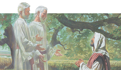 Moses and Elias appeared to Jesus
