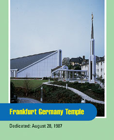 Frankfurt Germany Temple