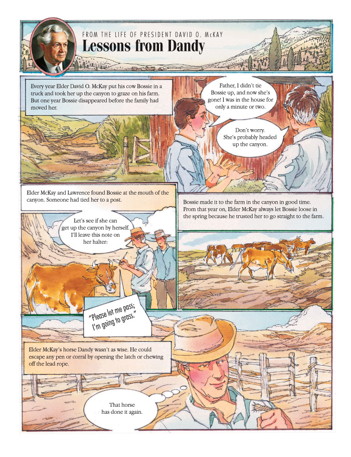 Lessons from Dandy, left page