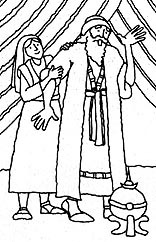 coloring pages nephi liahona - photo#5