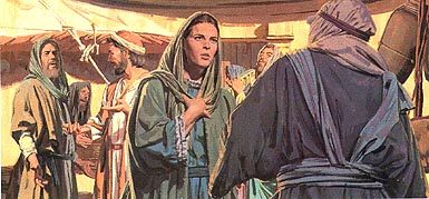 Joseph and Mary returned to find Jesus