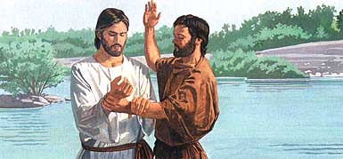 Jesus told John to baptize Him