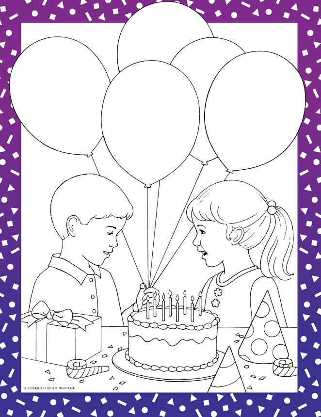 choose the right coloring page lds - choose the right way and be happy liahona