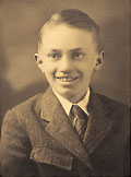 President Gordon B. Hinckley as a boy