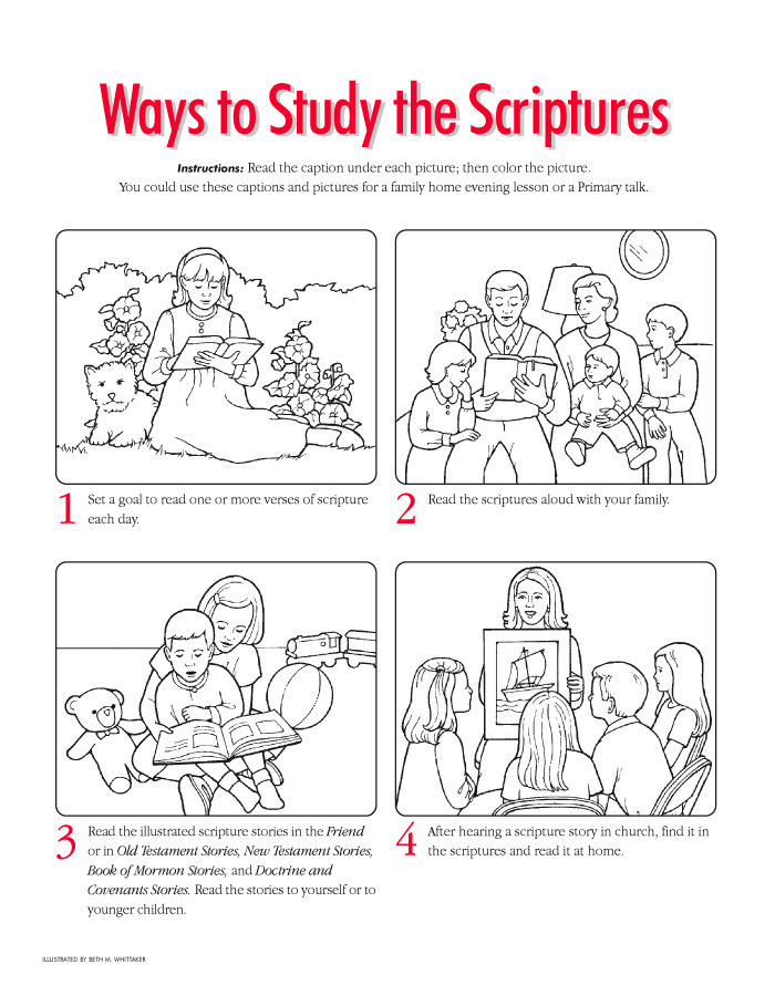 Ways to Study the Scriptures