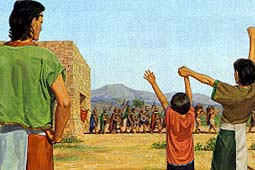 Mormon refused to lead the army