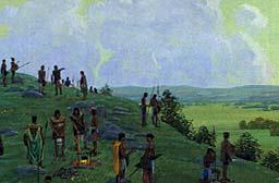 Mormon led the people to Cumorah