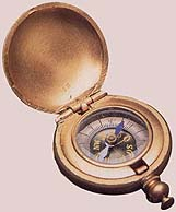 The compass used by President Brigham Young