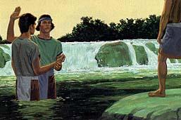 Many baptized