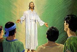 Jesus departed