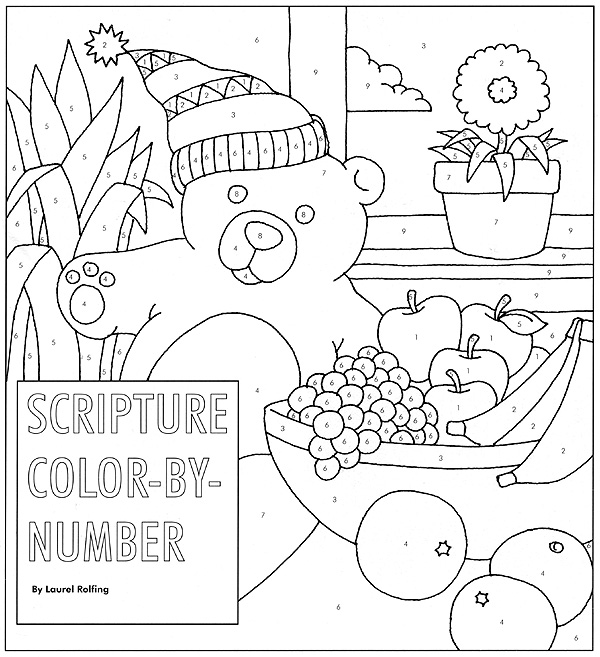 Scripture coloring guide