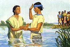 Many were baptized