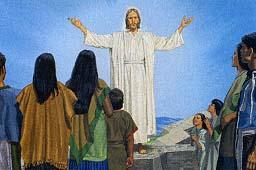He tells them He is Jesus