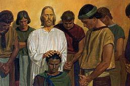 Jesus calls twelve disciples