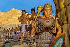 Amalickiah preparing to attach Nephites