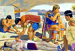 Nephites killed because Pahoran didn't send help