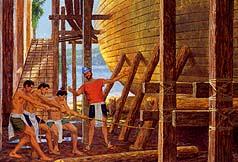 Hagoth builds a ship