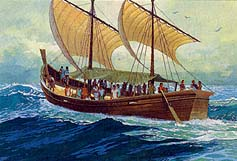 Other ships go northward