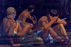 Lamanites were afraid