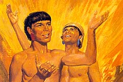 Lamanites felt great joy