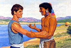 Lamanites stopped hating Nephites