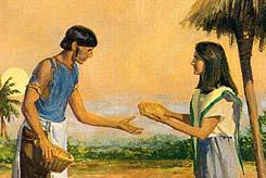 Korihor became a beggar