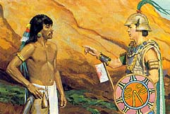 Lamanites asked to promise not to fight