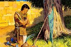 Moroni prayed