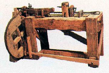 Brigham's furniture lathe