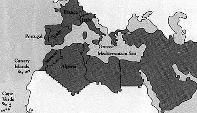 The Europe Mediterranean Area