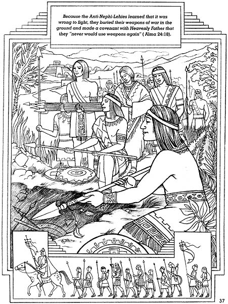 nephi coloring pages - photo#22