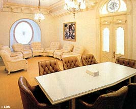 The council room of the Presidency of the Seventy