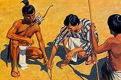 Alma showed Lamanites the way home