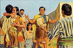 They arrive in Zarahemla