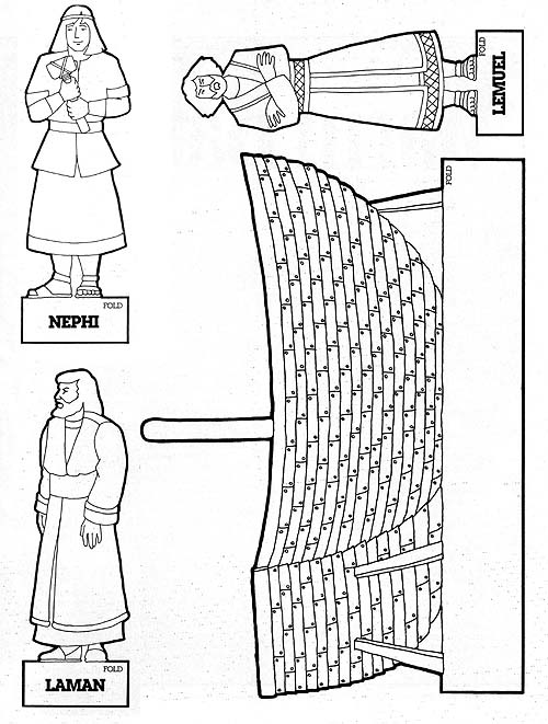 coloring pages nephi liahona - photo#10