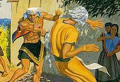 Nehor killed Gideon