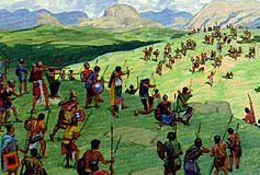 Nephites defeat Amlicites