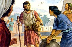 He was found by the people of Zarahemla