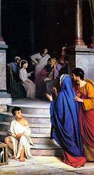 boy Jesus in temple
