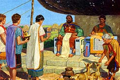 He taxed the Nephites