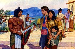 Many Nephites captured