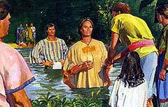 Alma baptized many