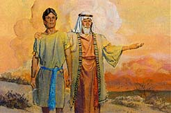 Nephi obeyed the Lord