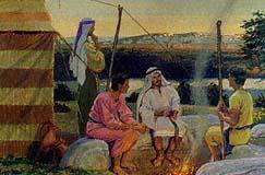 The sons return to Jerusalem