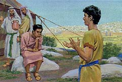 Nephi had faith the Lord would help them get the plates