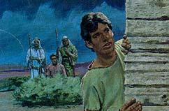 Nephi sneaked into Jerusalem
