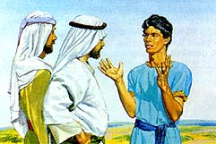 Nephi tells them to have faith