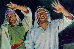 Laman and Lemuel heard the voice of the Lord
