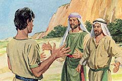 They were angry with Nephi
