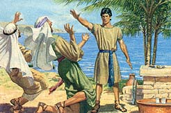 Laman and Lemuel recognize power of God